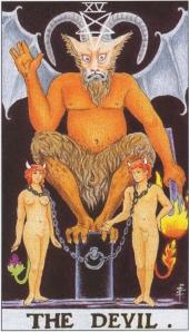"""""""the devil in the tarot"""""""
